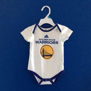 San Francisco Golden state warriors NBA onesie 12M